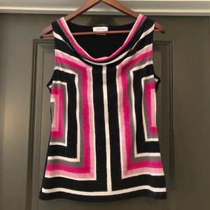 Calvin Klein Women's Size M Multi Colored Shirt
